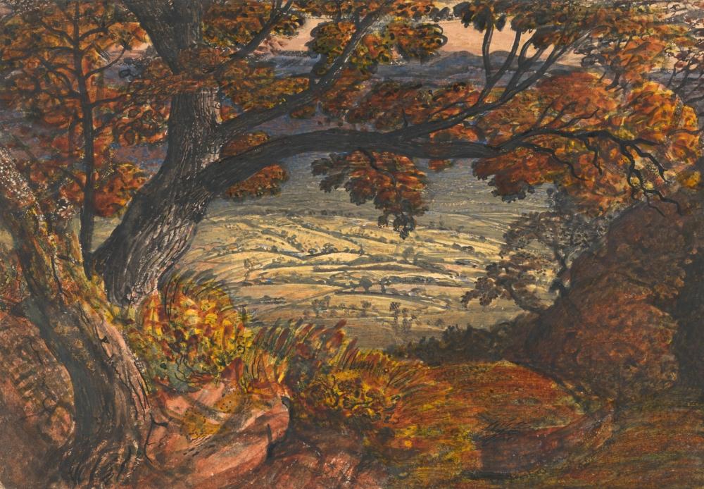 The Weald of Kent, Samuel Palmer