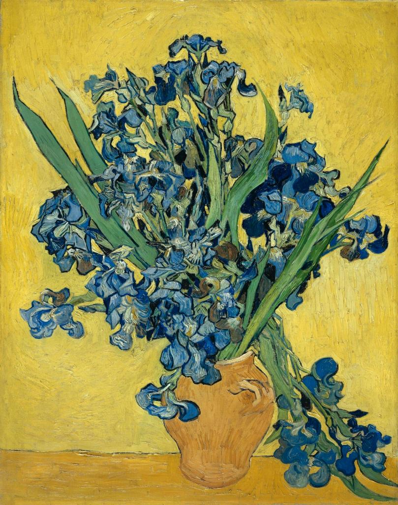Irises, Van Gogh